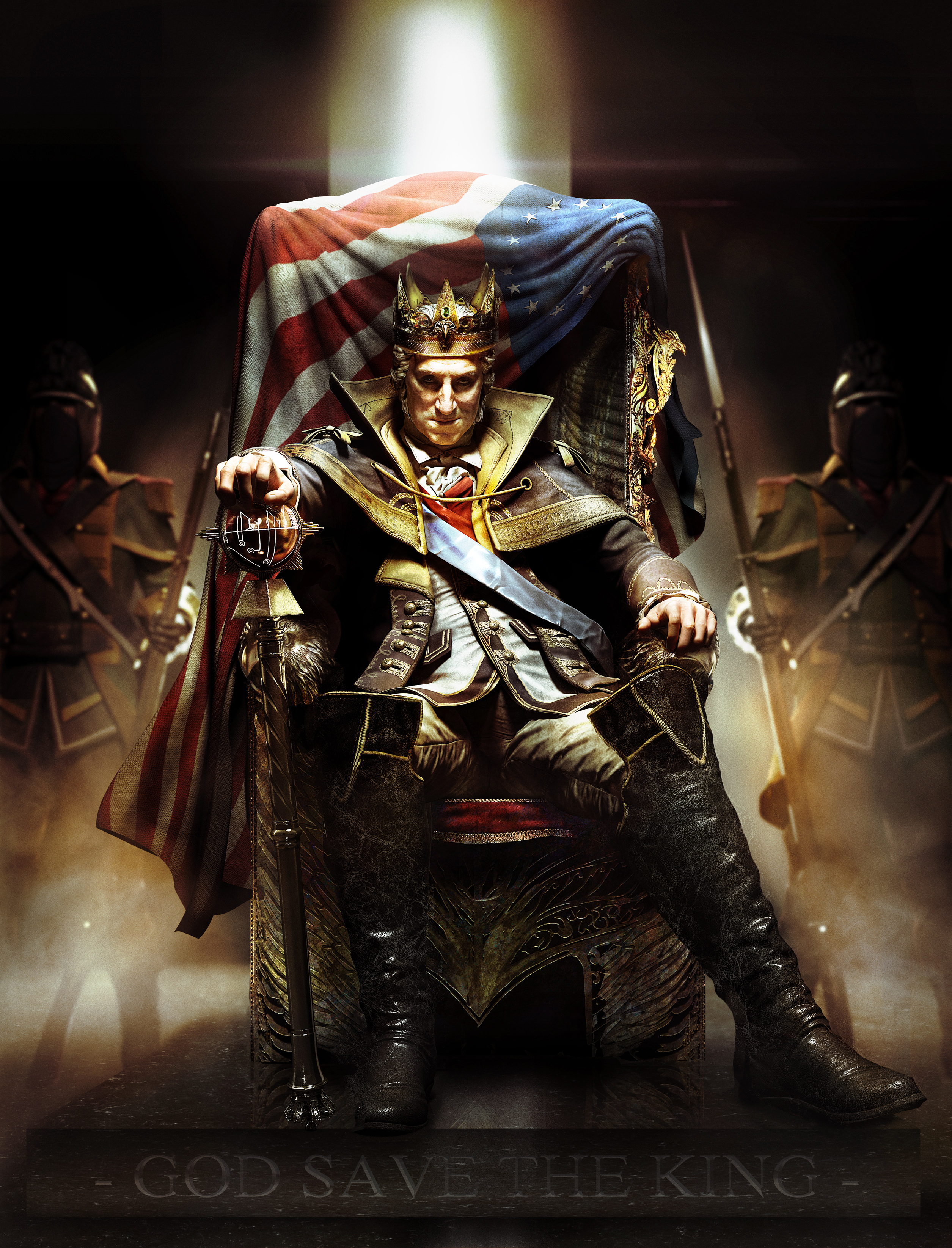 King Of The United States Of America Systems And Symbols