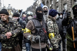 McCain's demonstrators in Ukraine